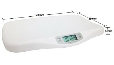 New Electronic Digital Infant Baby Pet Scales Pediatric Weight Tracker Free Post