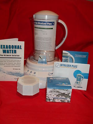 """Vitalizer Plus """"BEST OFFER"""" New -1Mineral Cube 1year Warranty - 3 FREE Books"""