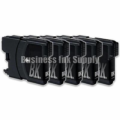 5 Black ink for Brother LC 61 LC61BK LC61 Ink Cartridge