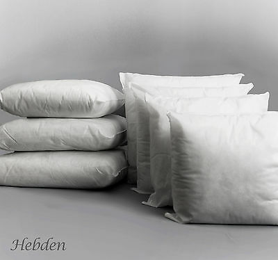 """Cushion Pads Inners Inserts Scatter Fillers Hollowfibre 22"""" 24"""" 26"""" 28"""" 30"""" 32"""""""