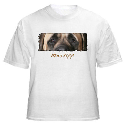 "Mastiff   "" The  Eyes Have It ""   Custom   T shirt"