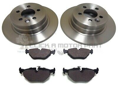 Rover Mg Zt Ztt 2.0 Cdti 1999-2005 Rear 2 Brake Discs And Pads Set New