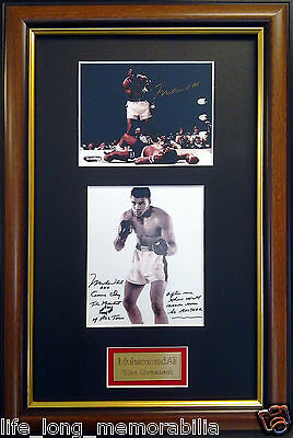 Muhammad Ali The Greatest Signed And Framed