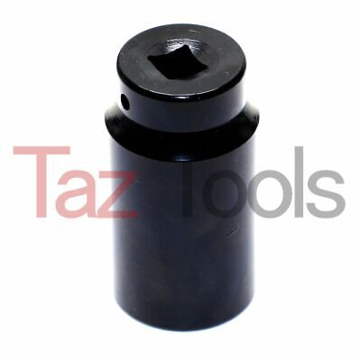 "34 Mm Deep Impact Socket 1/2"" Drive 6 Points Axle Nut Socket Remover Metric"