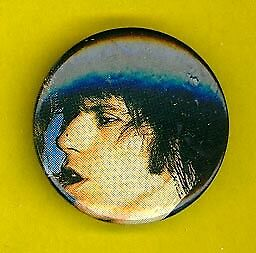 Rolling Stones 1979 uk pinback button badge ww Keith