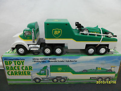1993 B.p. Toy Race Car Carrier   B138