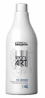recharge fix design 750ml pour spray l'oréal