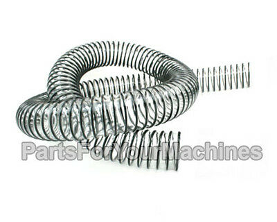 """1.5"""" Od, Flexible Suction Hose For Minuteman 200 Floor Scrubbers, Oem# 210074"""
