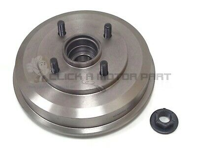 Ford Focus Mk1 1998-2004 Rear 1 Brake Drum + 1 Fitted Wheel Bearing Hub Nut New