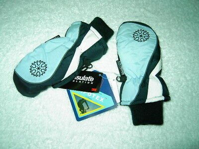 KIDS SNOWBOARD MITTENS Technical Ski Gloves Mit 6 5 4 3
