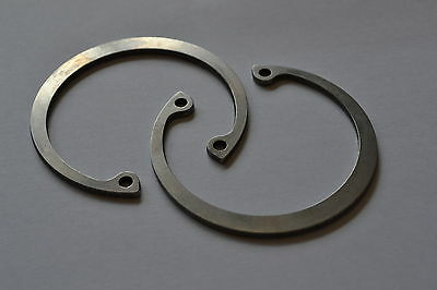 STAINLESS STEEL 25MM INTERNAL CIRCLIPS CIRCLIP DIN472 Pack of 2