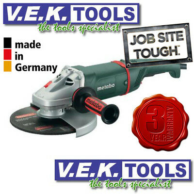"Metabo H/d 2500W 230Mm 9"" Angle Grinder- 3Yr Warranty!"