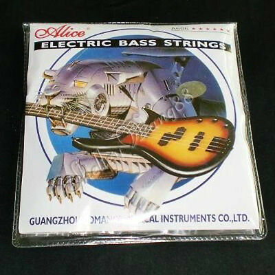 Electric Bass Guitar String Set Nickel Plated Steel New