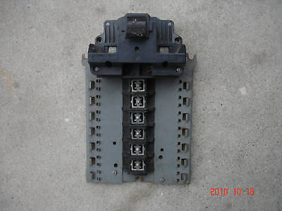 Fpe 100 Amp Main Circuit Breaker And 14/28 Ckt Buss Bar Federal Pacific