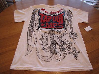 TAPOUT MPS UFC MMA mens shirt 335406110atf L NWT*^