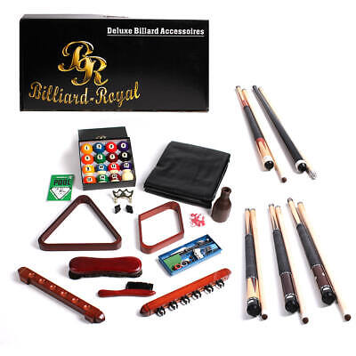 Deluxe Billard Zubehörset Billiard Queue Kugel