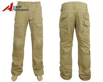 Tactical Military BDU Pants Army Combat Trousers Gen2 with Knee Pads CB 38W/XXL