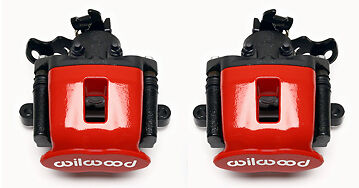 "Wilwood Combination Parking Brake Calipers & Pads,cpb,0.81"",drag Race,racing,red"
