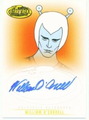 William O'connell Autograph A28 Star Trek Arts & Images