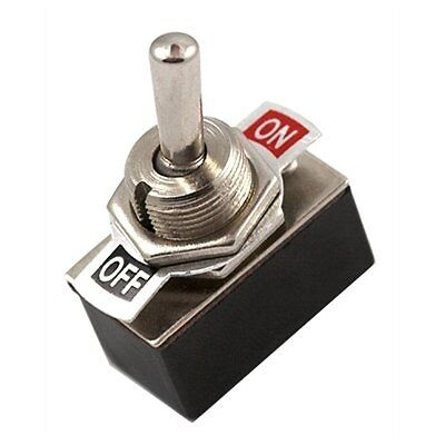12 Volt On/off Car Dash Toggle Flick Switch Heavy Duty Van Bus Bike 12V