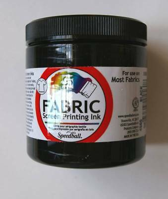 Speedball FABRIC Screen Printing INK 8oz Select Color FSPI8