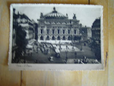 carte postale - paris - l'opera
