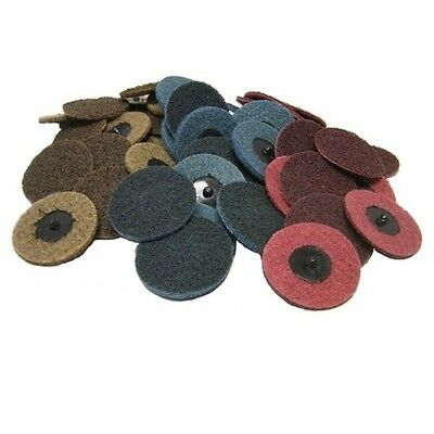 """25 3"""" Roloc Surface Conditioning Sanding Disc Mixed"""