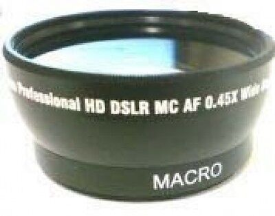 Wide Lens for Samsung SMXF401RN SMX-F401RP SMX-F401LN