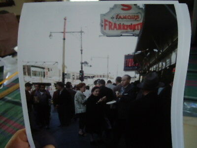 1957 Nathan's Famous Coney Island Brooklyn NYC Photo