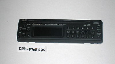 Pioneer DEH-P705RDS Replacement Faceplate