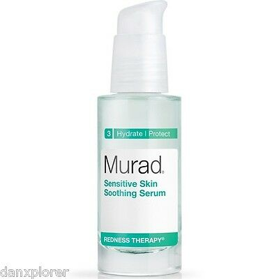 MURAD REDNESS THERAPY SENSITIVE SKIN SOOTHING SERUM 1oz or 30ml, NEW!! NO BOX!!!
