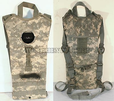 US Military Molle 3L HYDRATION PACK SYSTEM CARRIER Backpack ACU Camelbak VGC