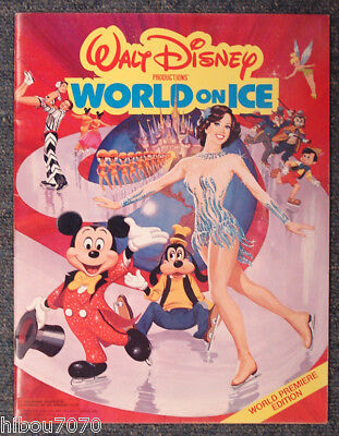 Walt Disney World On Ice Program / Programme 1982