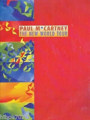 PAUL McCARTNEY The New World Tour PROGRAM / PROGRAMME 1993