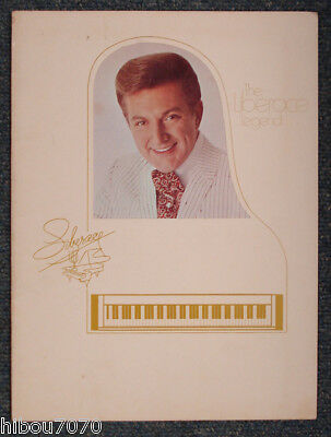 The Liberace Legend Program / Programme 1980