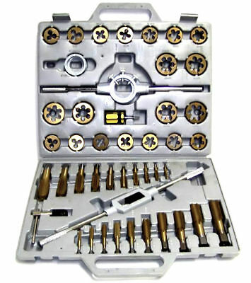 45 pc Tap and Die Set MM Tungsten Steel Titanium tools