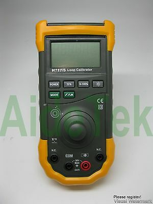 New H717 Loop Calibrator compared w/ FLUKE F705 3 yrs w