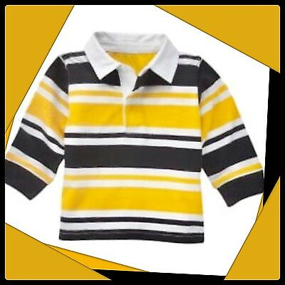 NWT Gymboree Boys AHOY MATEY Rugby Shirt Top Lot 2 2T