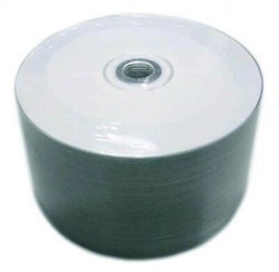 500 Pcs 52X Cd-R White Inkjet Hub Printable Aaa Grade