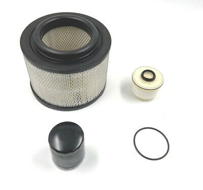 Engine Air + Fuel + Oil Filter Kit For Toyota Hilux 2.5TD / 3.0TD - MK6 (2005 +)