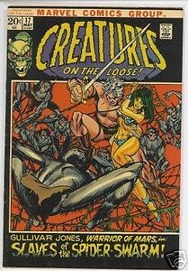 Creatures on the Loose # 17,  May 1972