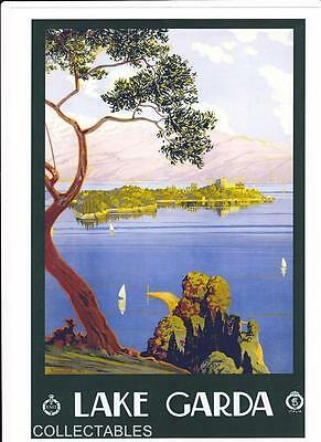 Travel Poster Prints Of Italy Set Of 7 A4 Size Colour