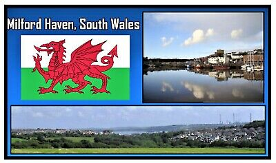 Milford Haven, South Wales - Souvenir Novelty Fridge Magnet - New / Gifts