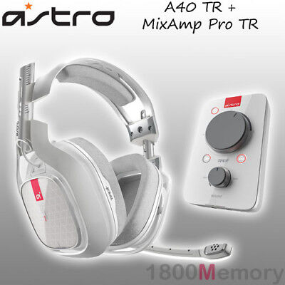 ASTRO A40 TR Over‑Ear Headset with MixAmp Pro TR for XBOX