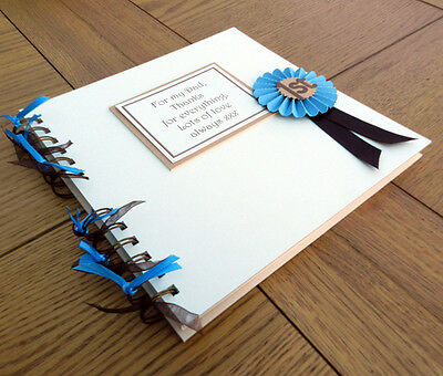 Fathers Day Gift Memory Book Photo Album Scrapbook Dad or Daddy personalised
