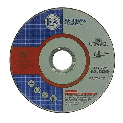 "50 Pack 5""x.045""x7/8"" Pro Metal Steel Cutting Cutoff Wheel"