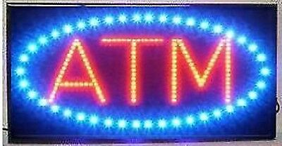 LED Neon Light Animated Motion ATM Business Sign LB86