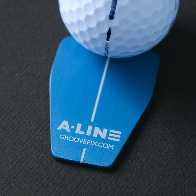 A-Line Ball Marker Putting Aid (Bull Shape) – Improve Your 1 Putt %