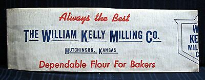 Old William Kelly Milling Hutchinson Kansas Paper Hat