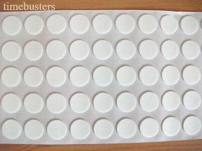 200 Self Adhesive Double Sided 3D Effect Stick On Craft Foam Dots/Pads 18mm
